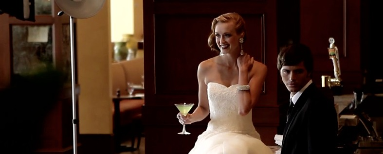 Weddings Magazine Fashion Shoot | Old Hollywood