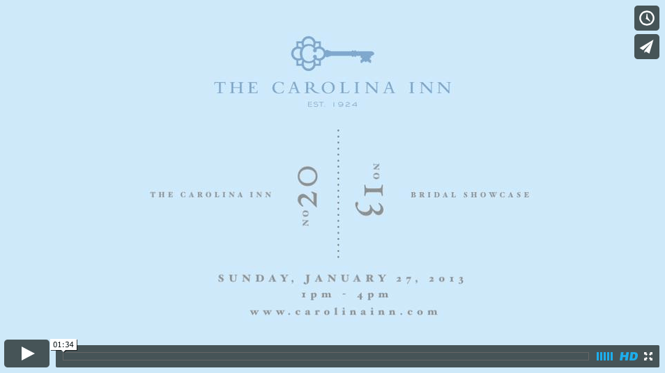 The 2014 Bridal Showcase at The Historic The Carolina Inn