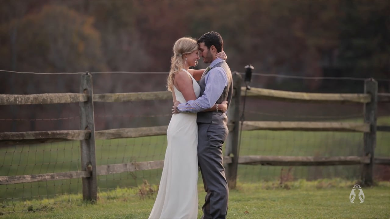 North Carolina Mountain Destination Wedding Film by Heart Stone Films | Sarah + Steven