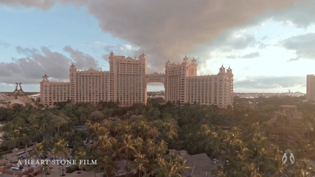 Atlantis Bahamas Destination Wedding Film by Heart Stone Films