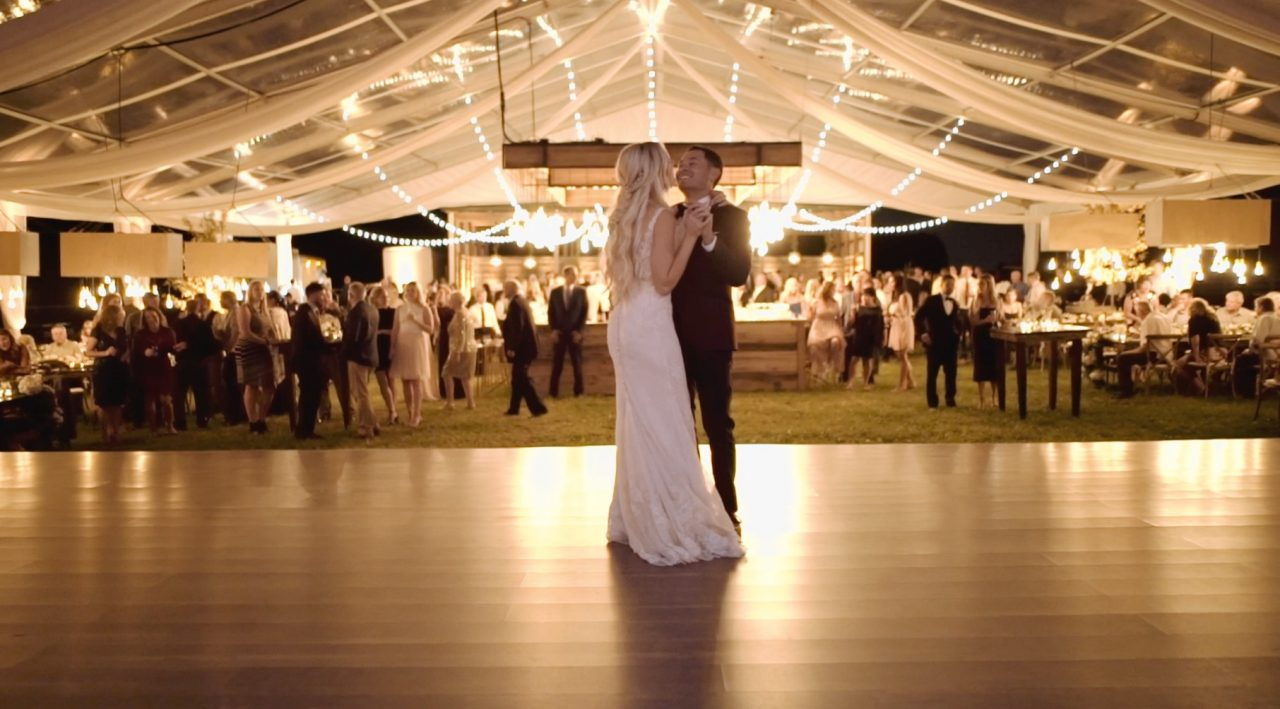 Nascar Driver Kyle Larson and Katelyn Sweet Wedding Video by Heart Stone Films
