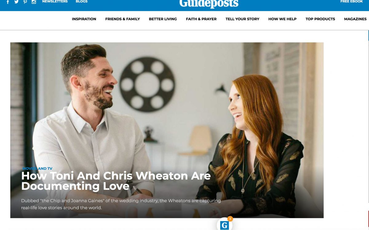 How Toni And Chris Wheaton Are Documenting Love